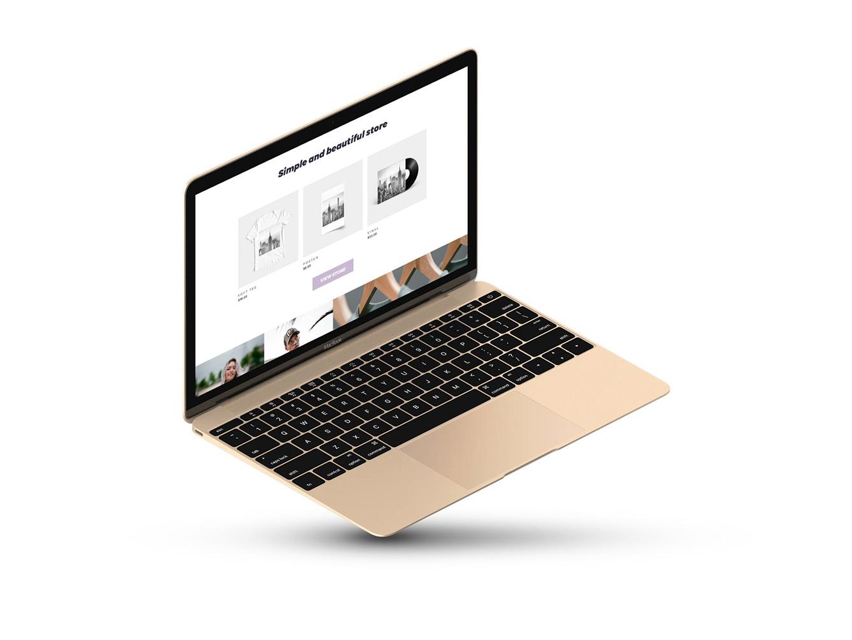laptop mockup